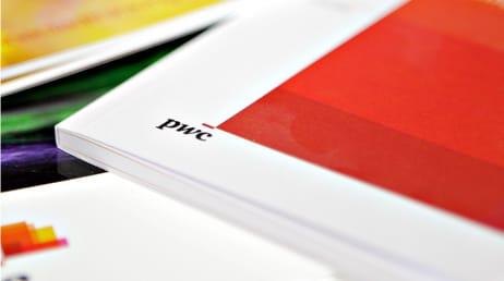 creative design service for pwc