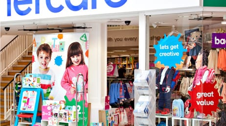 creative design services for mothercare