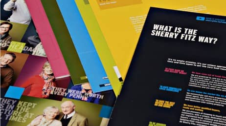Creative design service for Sherry Fitzgerald